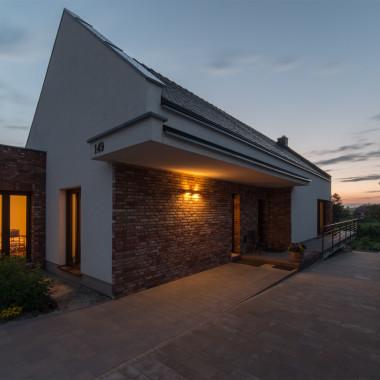Dom w dolinie rzeki Krępicy | Architekt Kalisz