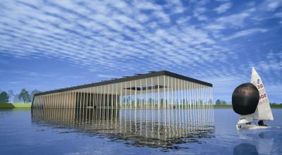Pływający basen   Projekty budowlane Kalisz