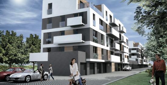 Galeriowce w Ostrowie Wielkopolskim | Architekt Kalisz