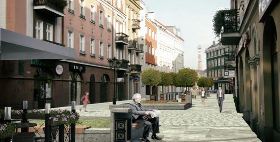 Rewitalizacja ciągów pieszych i Rynku Głównego kaliskiej Starówki | Projekty budowlane Kalisz