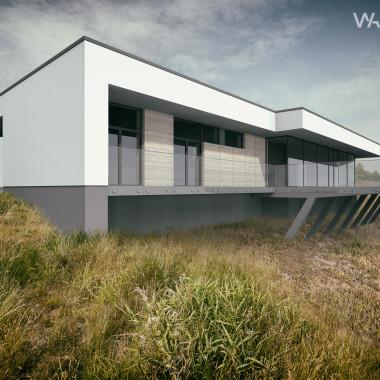 Dom na krawędzi doliny | Architekt Kalisz