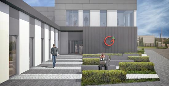 Budynek administracyjny Giełdy Kaliskiej | Projekty budowlane Kalisz