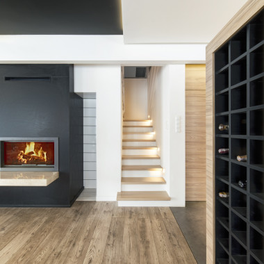 Wnętrza domu w Wolicy | Wiekiera Architekci