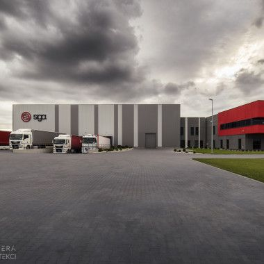 Siedziba firmy transportowej Siga