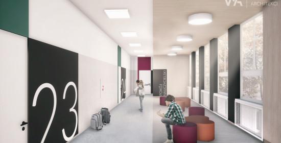 Szkoła podstawowa nr 3 w Pleszewie - modernizacja wnętrz