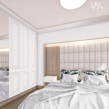 Projekt wnętrza domu w Wojciechówce